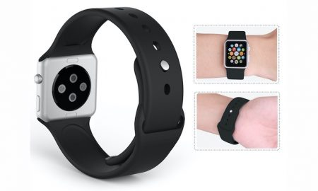 MoKo 42mm Soft Silicone Apple Watch Band - 70% OFF