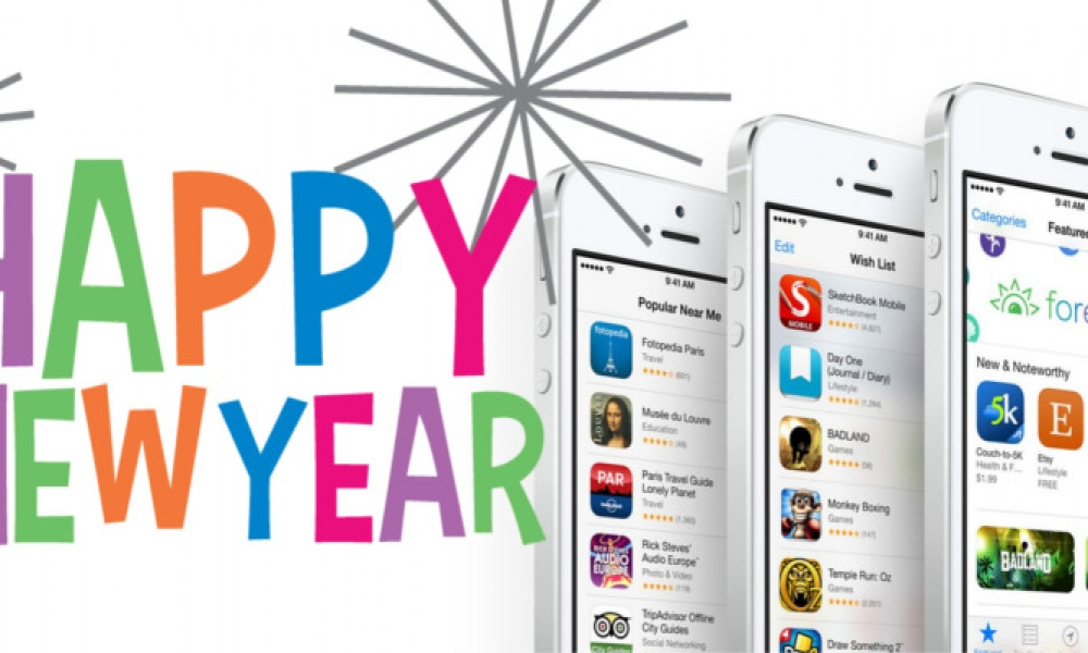 Top 10 Most Common New Year's Resolutions and the Apps to Make Them A Success