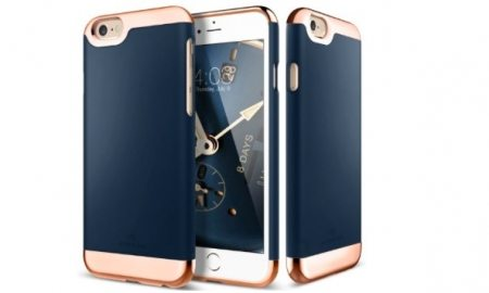 Navy Blue Dual Layer Slider iPhone 6s Plus Case - 53% OFF