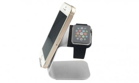 Aluminum Charging Stand for Apple Watch and iPhone - 85% OFF