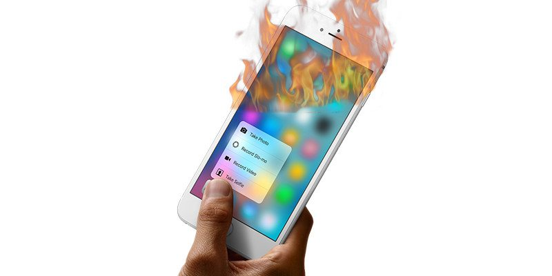 Atlanta Man's iPhone 6 Plus Catches Fire, and the Result is Rather Embarrassing