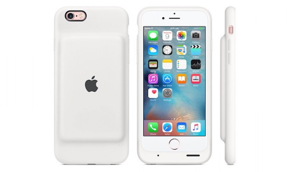 "New Apple Branded ""Smart Battery Case"" Provides 25 Extra Hours of iPhone Battery Life"