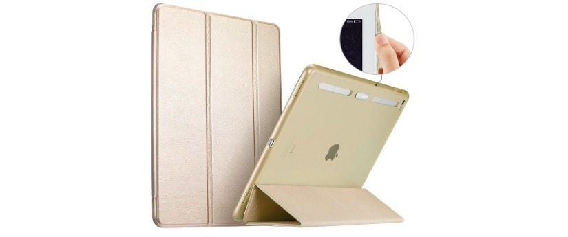 champagne gold ipad pro smart case 50