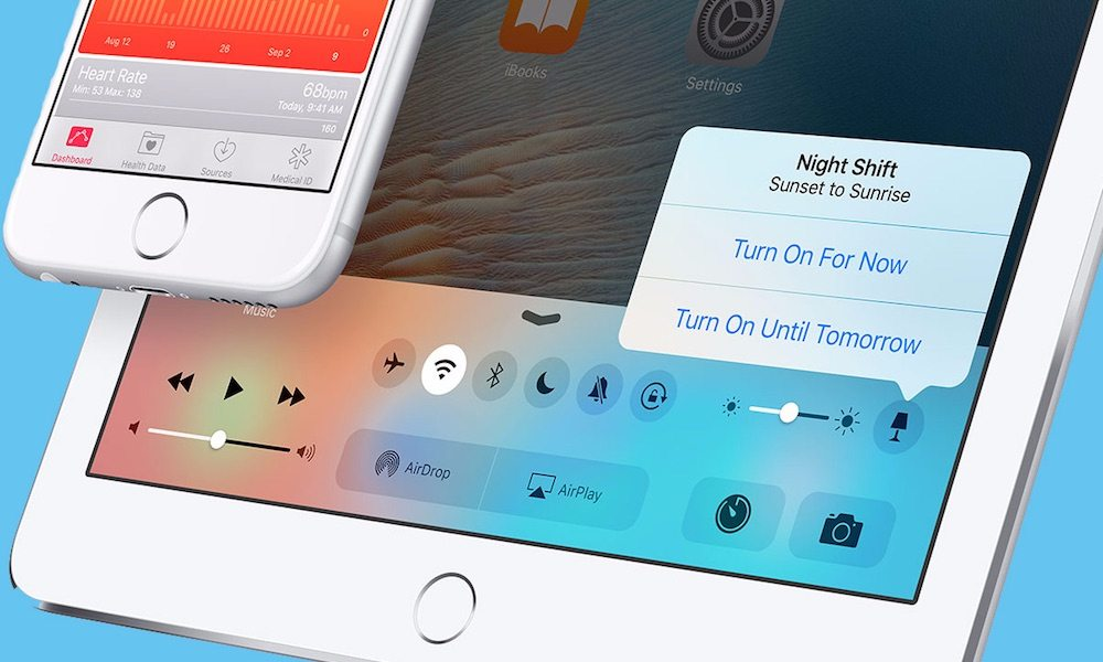 iOS 9.3 Beta 5 Makes These 3 Changes to the Highly-Anticipated 'Night Shift' Feature