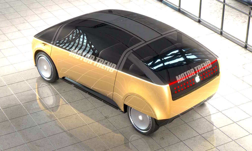 Motor Trend Has Created an Apple Car Concept and It's Really, Really Weird