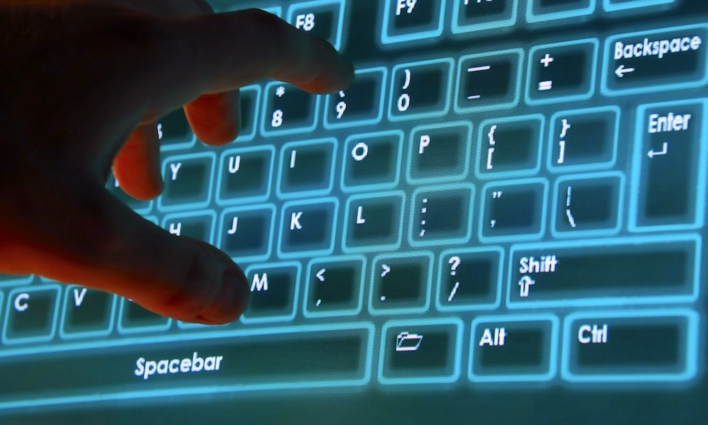 Futuristic Touch-Based Keyboard Possible for Next Generation MacBooks