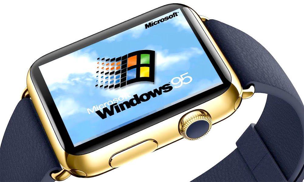 Watch This: Apple Watch Successfully Runs Windows 95