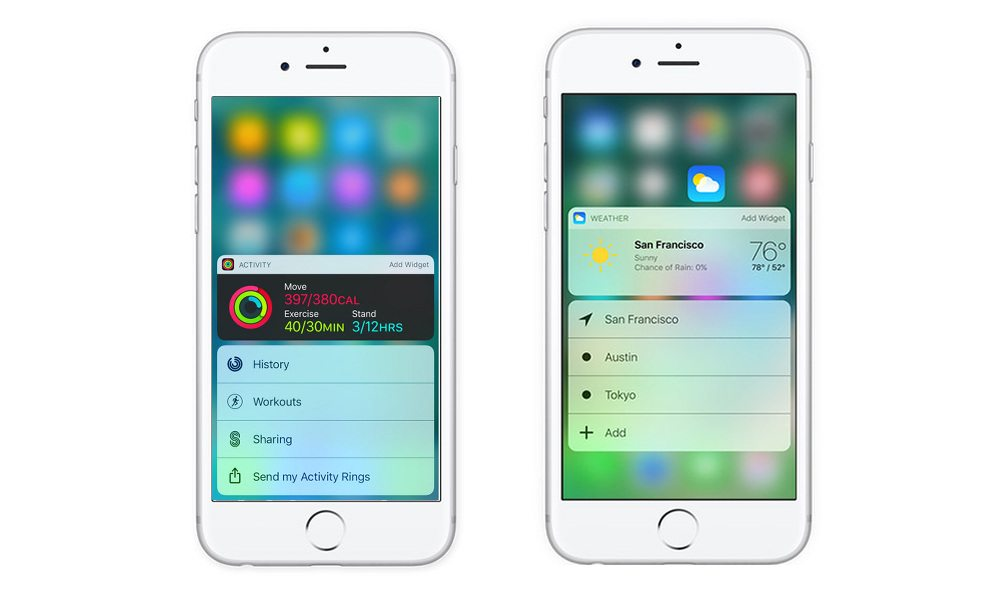 iOS 10's Advanced Widget System and 3D Touch Enhancements ...