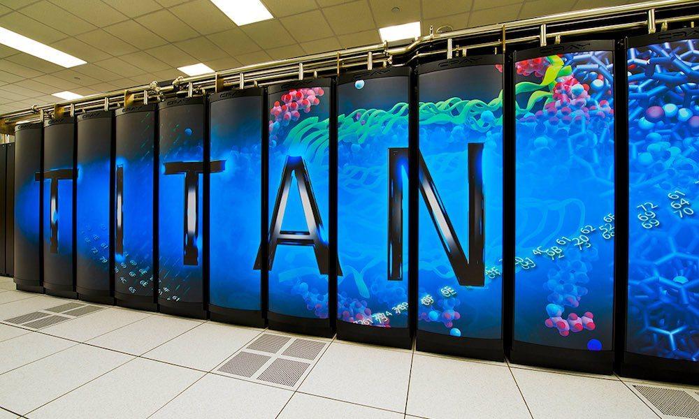 US Supercomputer- image cred Oak Ridge National Laboratory