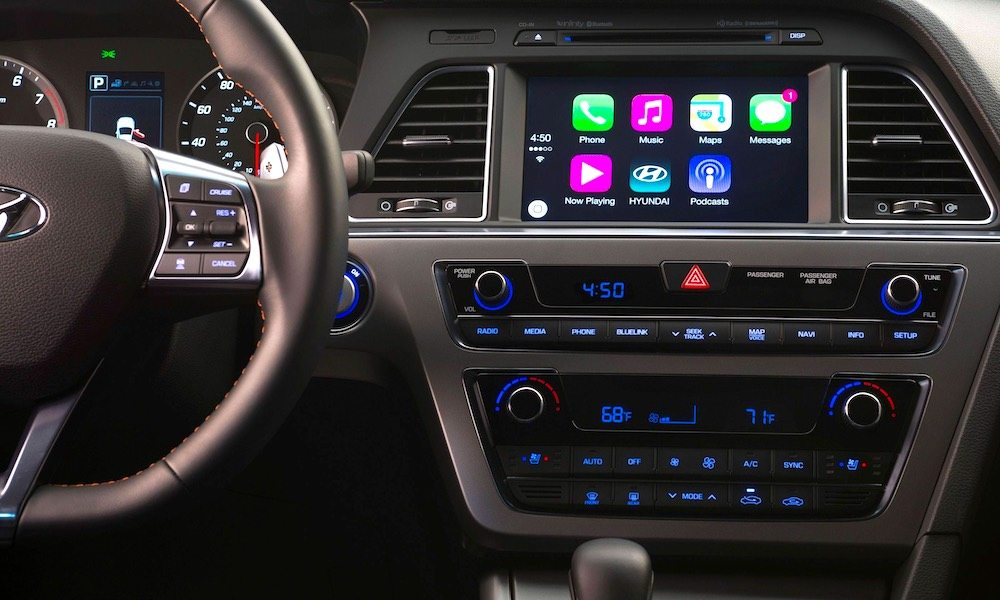 You Can Now Upgrade Select Hyundai Models with Apple's CarPlay for Free