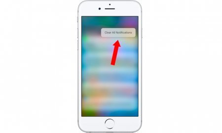 How to Clear All Notifications in iOS 10