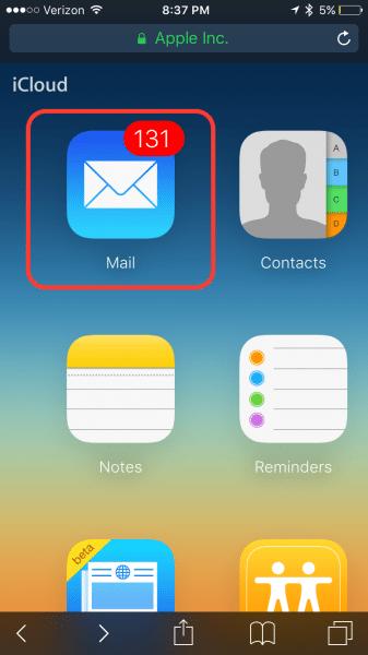 iCloud Login Guide Step 5