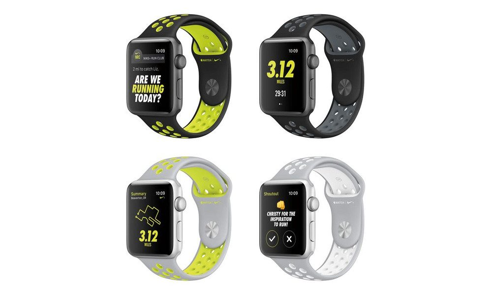 Slick New Apple Watch Nike+ Edition Announced Along with Revamped, Lower Priced Apple Watch Series 1