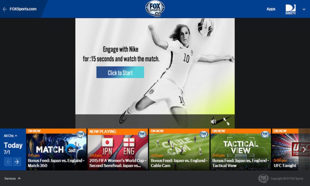 Fox Go App Comes to Apple TV