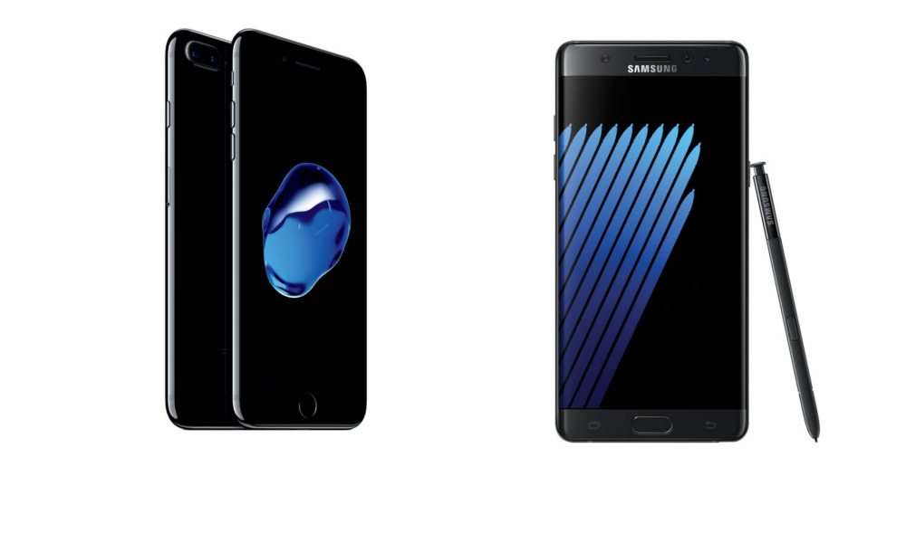 Apple's iPhone 7 Absolutely Demolishes Samsung's Galaxy Note 7 in New Speed Test