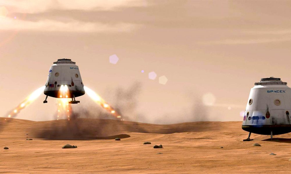 Video: Elon Musk Presents His Valiant Vision to Colonize Mars