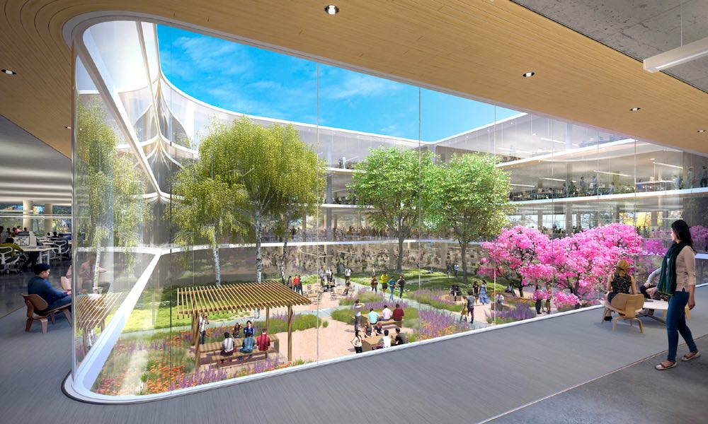 Apple's Gleaming Campus 2 Nearing Completion, Leaked Photos Reveal