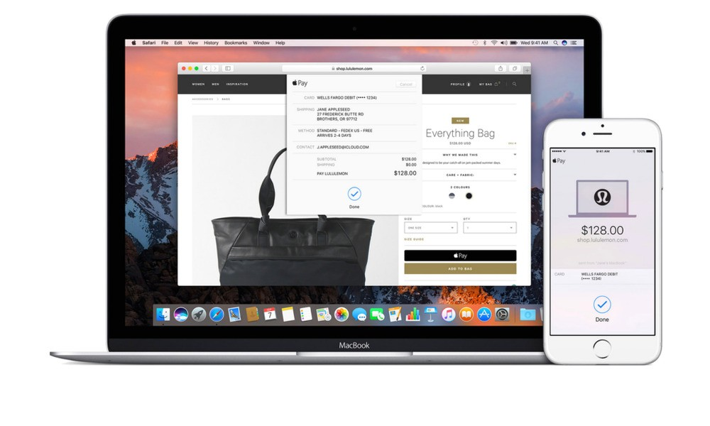 Here's How to Use Apple Pay for the Web on iOS 10 and macOS Sierra