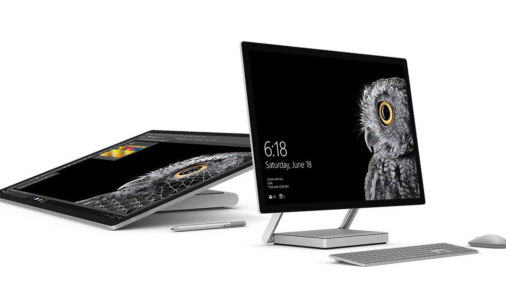 Microsoft Debuts Impressive All-in-One 'Surface Studio' PC and Surface Book i7
