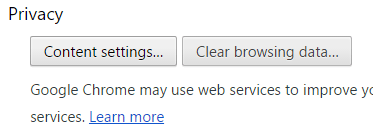Turning Off Chrome Notifications Step 3