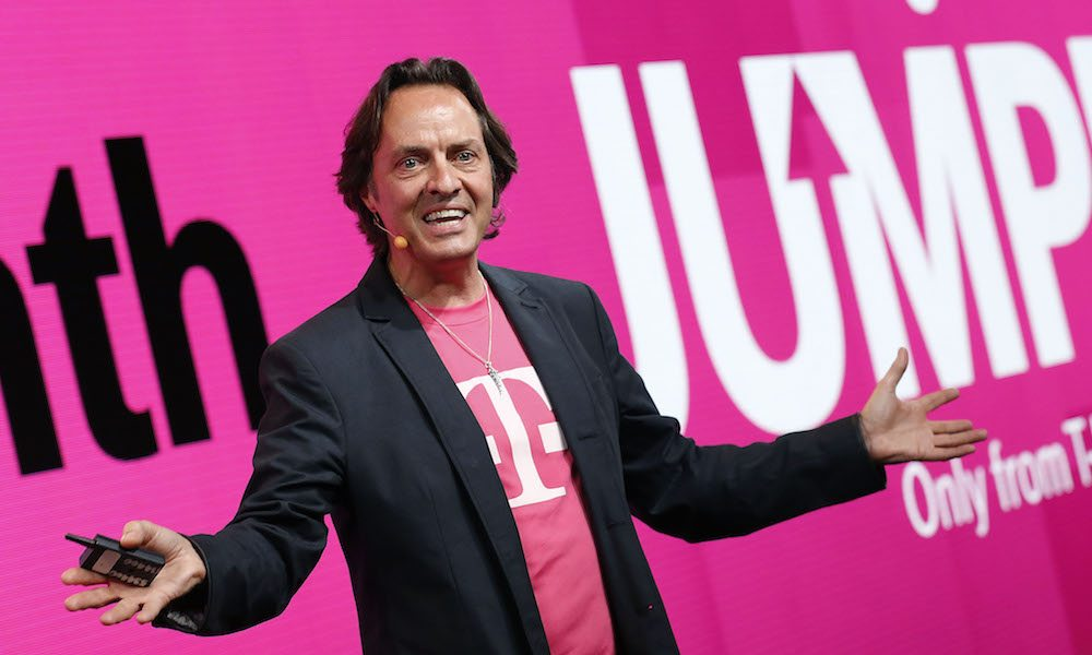 T-Mobile CEO Warns Us Not to Get 'Verizoned'