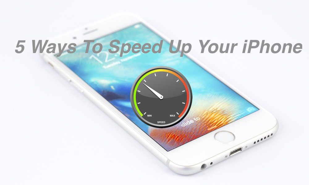 how to speed up my iphone 5 and easy ways to speed up your iphone 2757