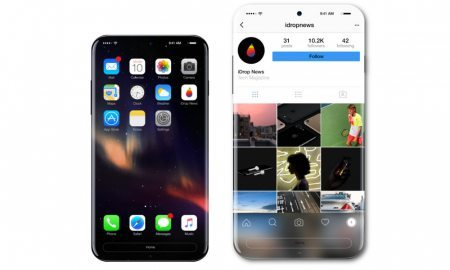 Attribution to iDrop News for Apple iPhone 8 Concept