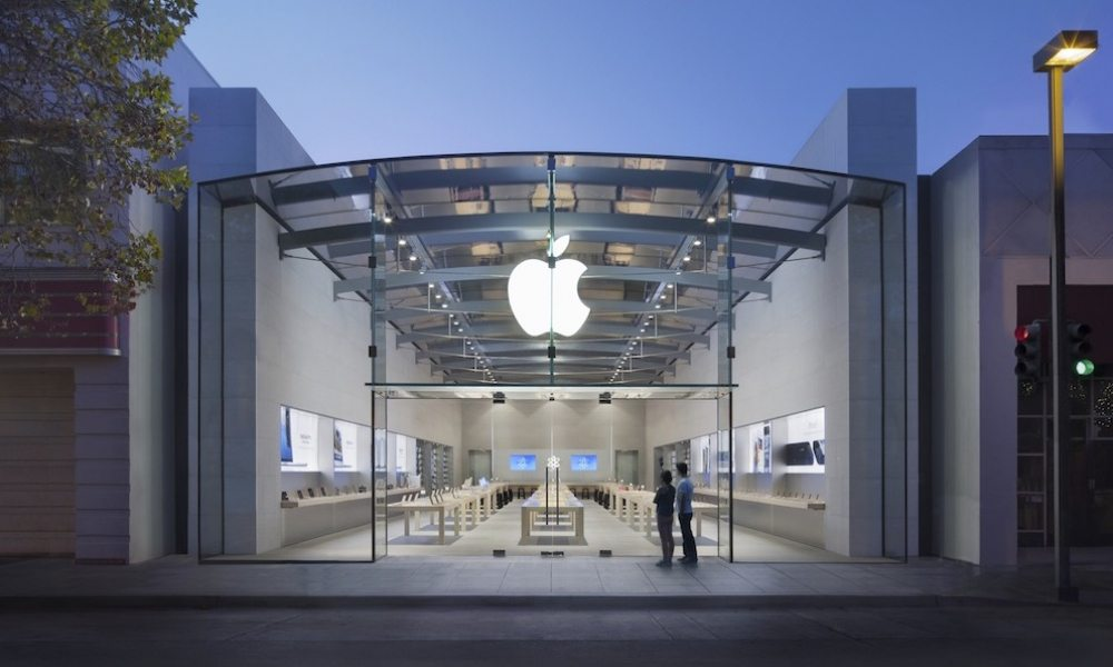 Burglars Smash SUV into Palo Alto Apple Store, Make off with Macs and iPhones