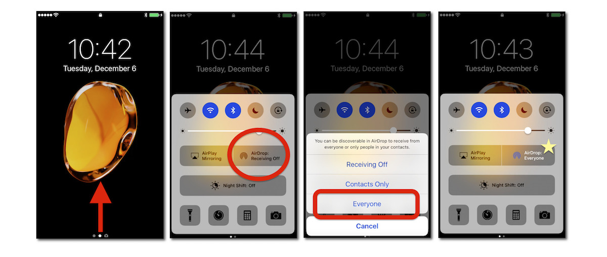 how to use airdrop on iphone airdrop guide here s how to transfer files easily between 742