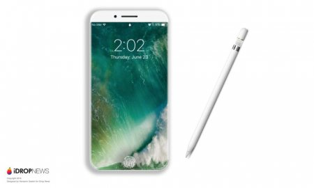 New Patent Suggests iPhone 8 Could Be Apple Pencil Compatible