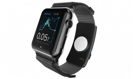 BACtrack Unveils World's First Alcohol Monitoring Wearable — And It Fits on an Apple Watch Band