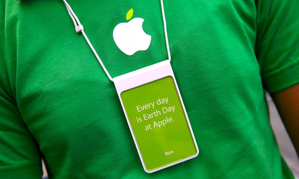 Apple Has Been Named the World's Most Environmentally Friendly Tech Company for the Third Year in a Row