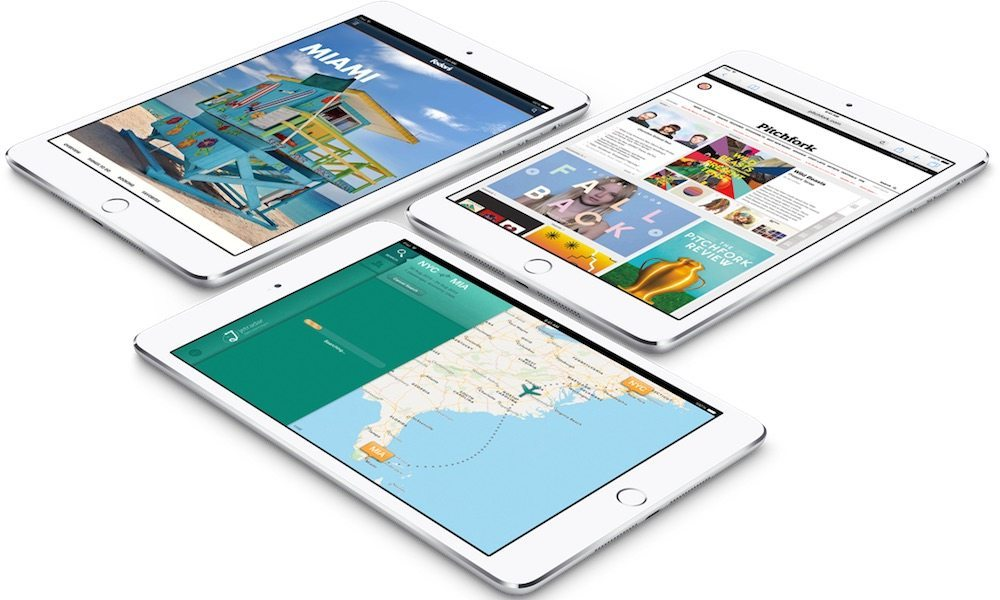 Three New iPads Rumored to Be Released in the Second Half of 2017