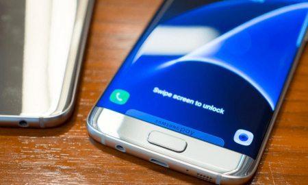 Samsung Galaxy S7 Edge Android Nougat