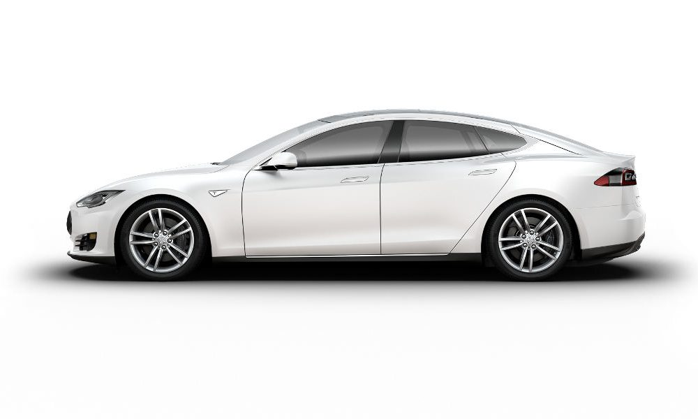 Tesla Model Crash