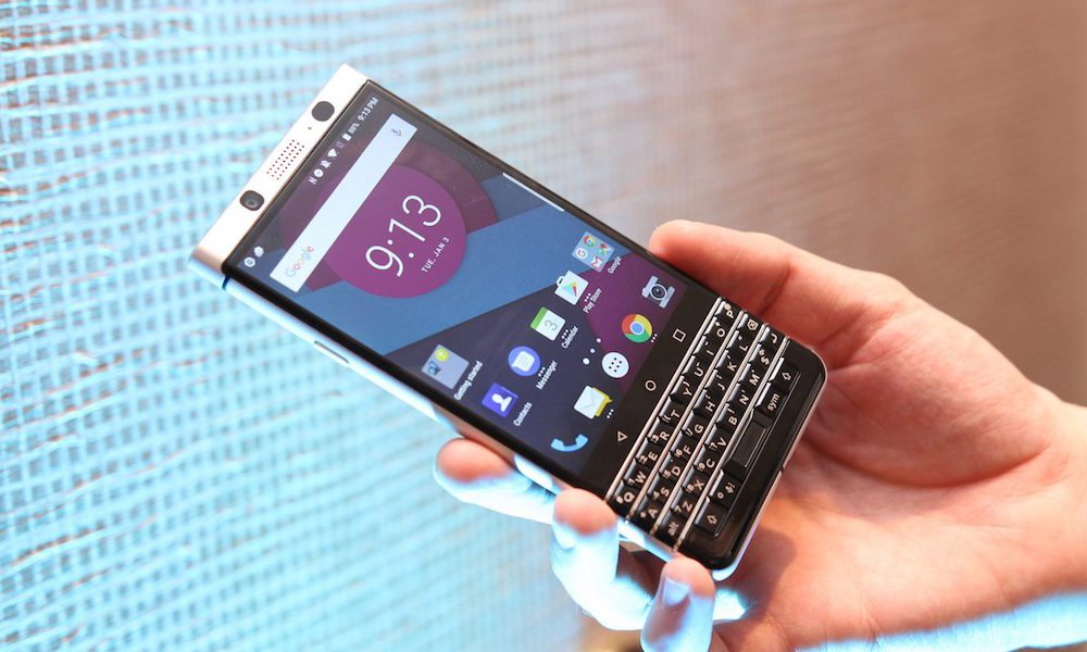BlackBerry's Comeback Phone Will Finally Be Unveiled Late Next Month