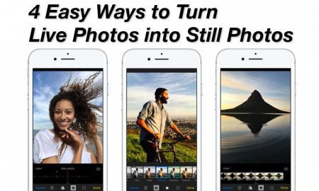 4 Easy Ways to Turn Live Photos into Still Photos