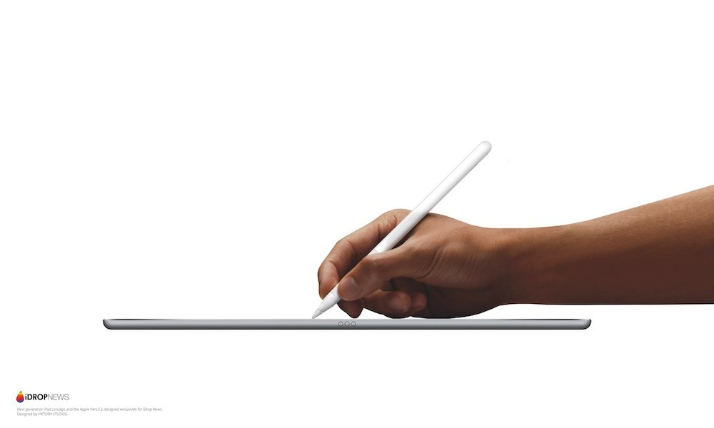 iPad Pro 2 and Apple Pencil 2 concept