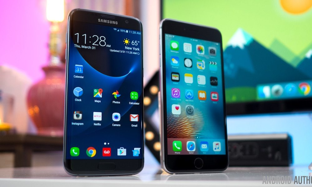 Apple Stock Prices Surge as the Company Overtakes Its Main Rival Samsung