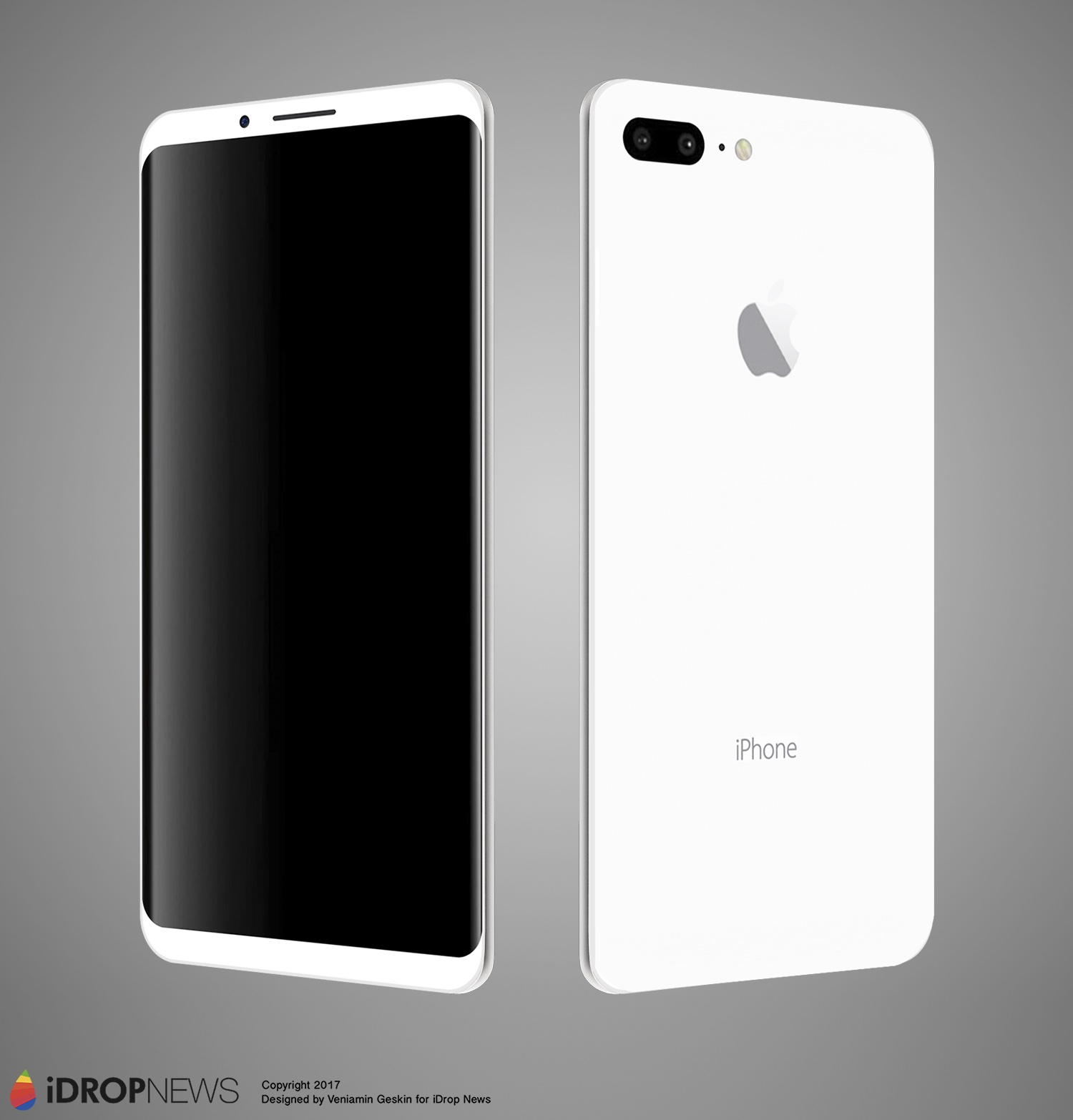 iPhone 8 Meets Samsung Galaxy S8