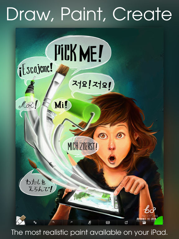 Top 5 iPad Apps for Artists, Painters, and Designers