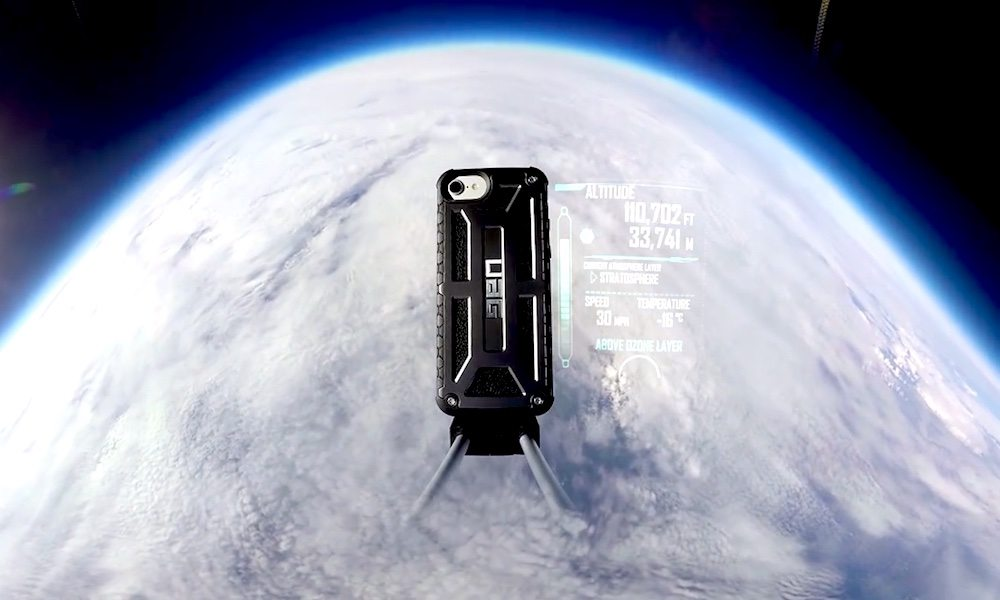 Watch an iPhone 7 Fly into Space and Return Unharmed