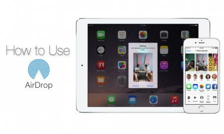 How to AirDrop Photos