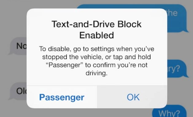 How To Block Texting While Driving On Iphone
