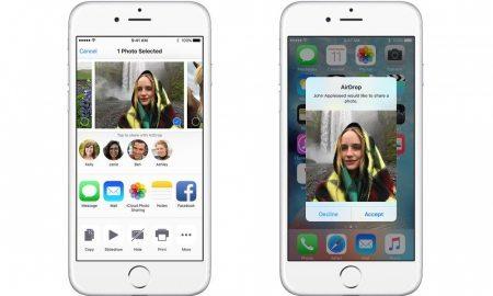AirDrop iPhone Photos