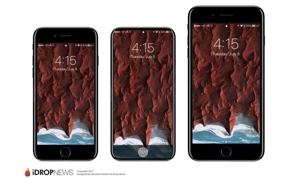 konsep 3 ukuran iPhone 8