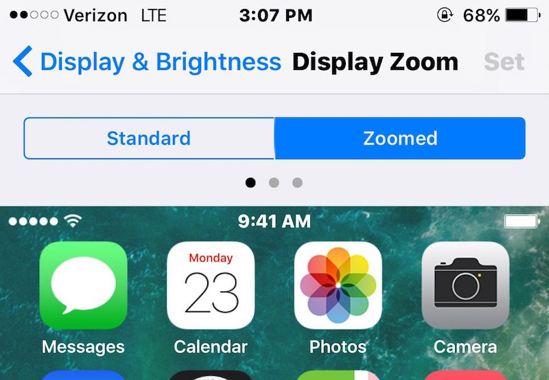 how to turn off display zoom