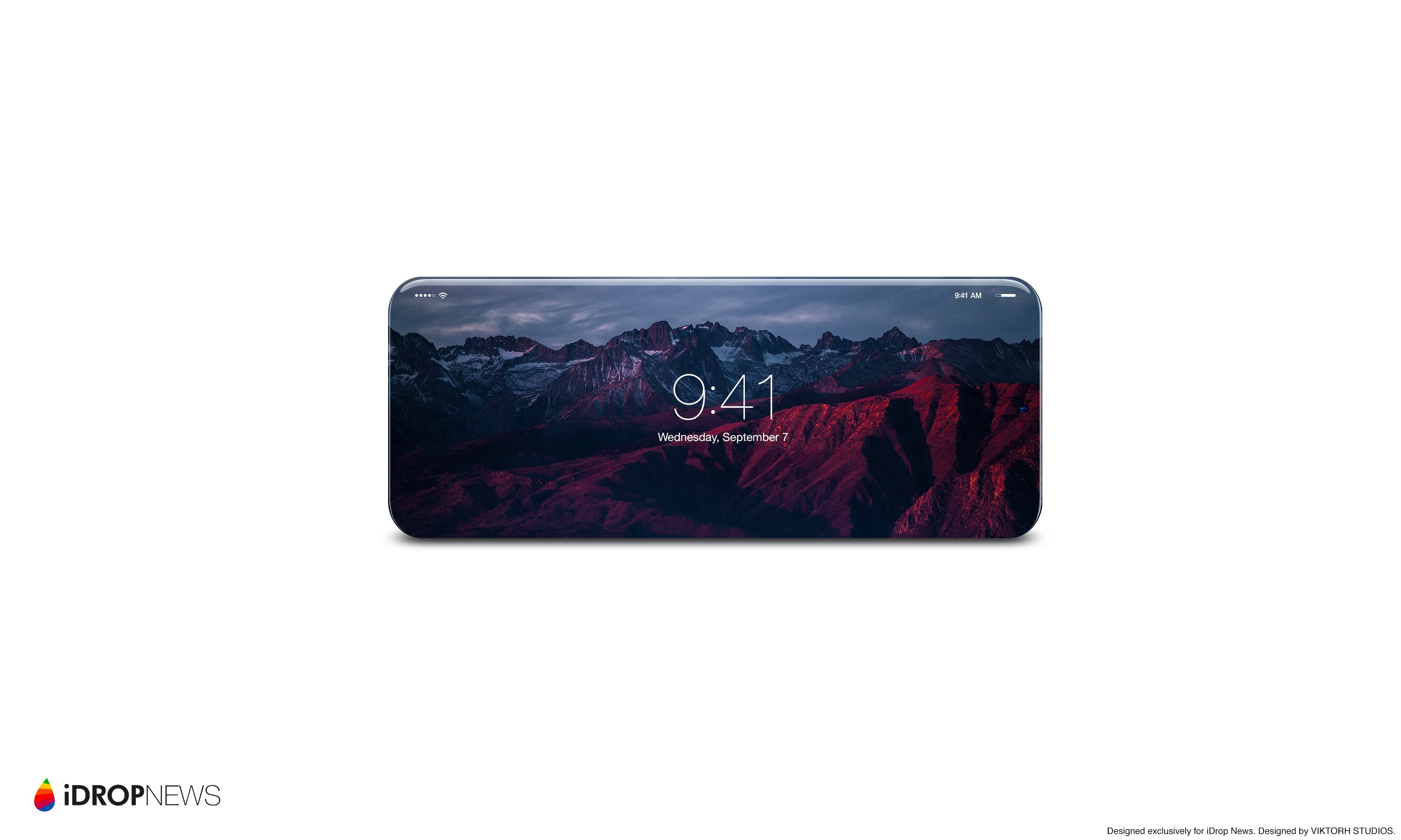 Foldable iPhone Concept Image