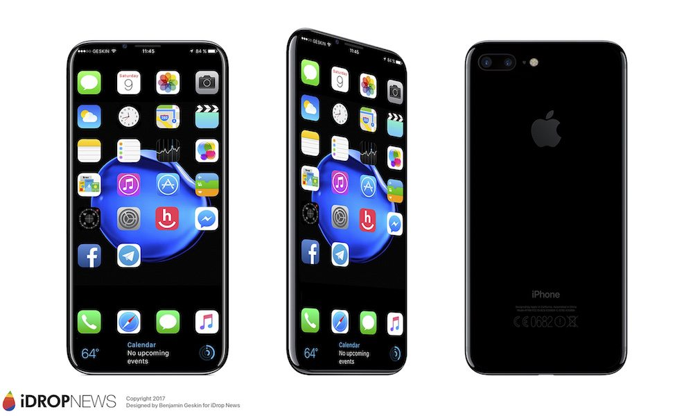 Apple iPhone X Concept Image