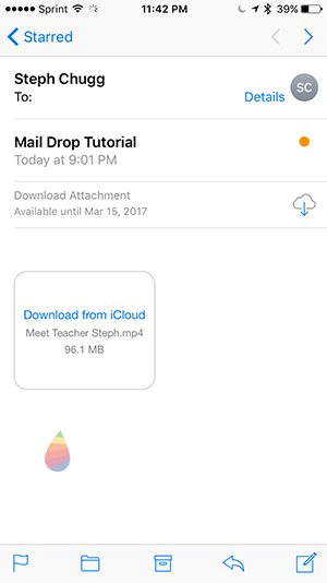 How to Receive Mail Drop on iOS 10